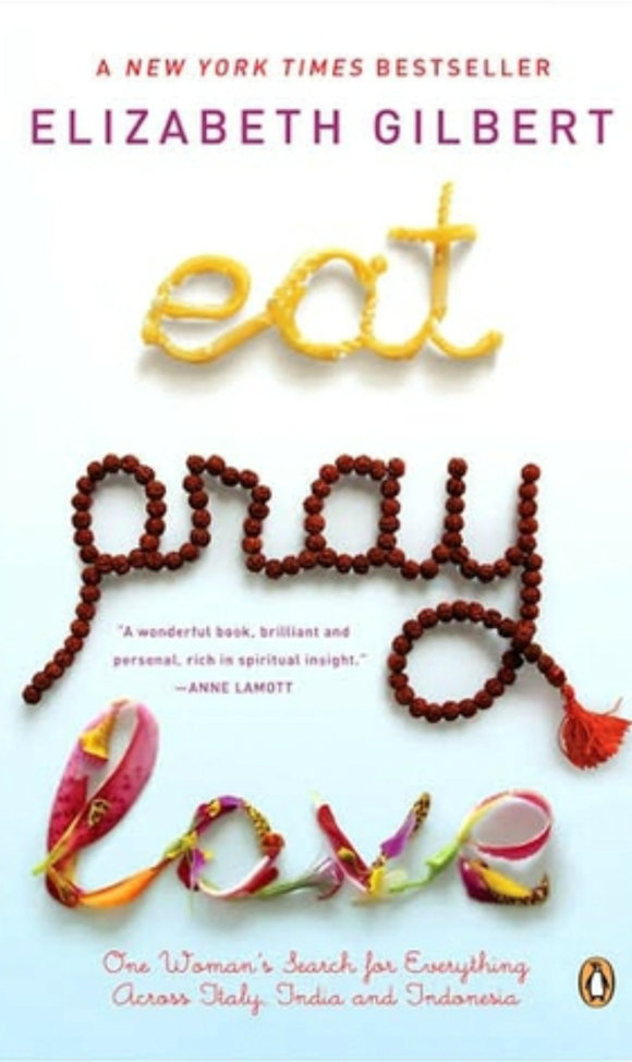 Boekrecensie Eat, Pray, Love